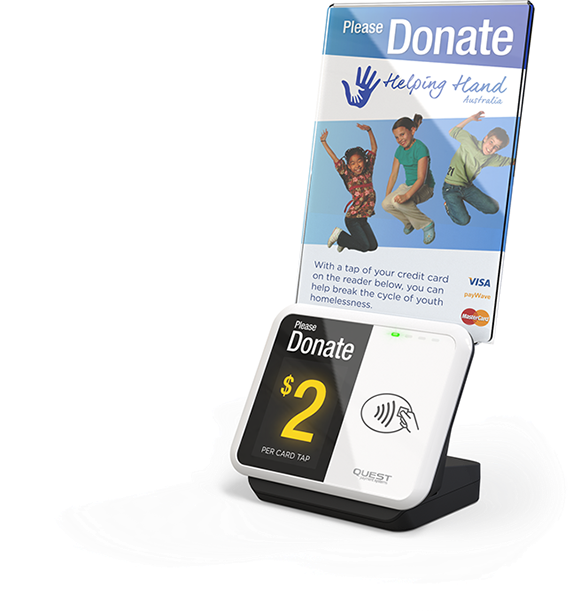 donation point tap